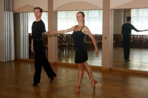 Strój do tańca na trening
