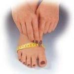 Jak mierzyć obwód stopy