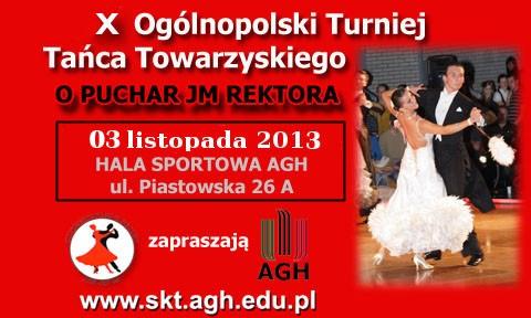 Turniej Tańca Towarzyskiego o Puchar Rektora AGH